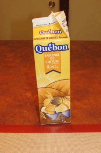 Remplacer le lait par le babeurre