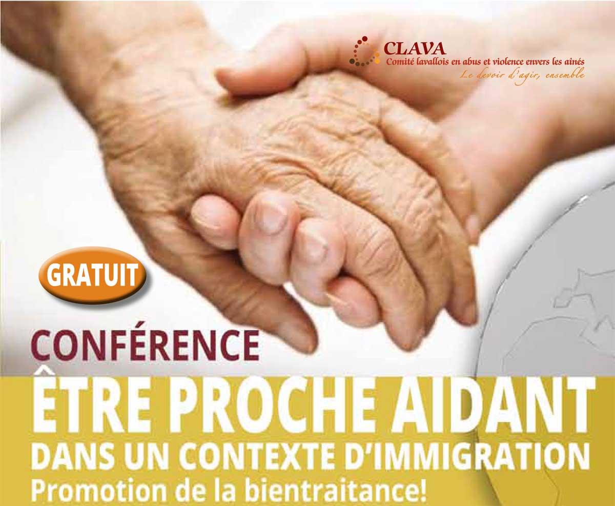 Conférence gratuite pour les proches aidants issus des communautés culturelles