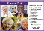 Activité d'information pour les personnes aînées