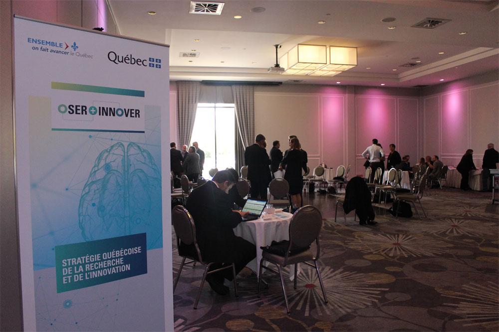 Le député Saul Polo rencontre les intervenants en recherche et en innovation de la région Laval, Laurentides et Lanaudière