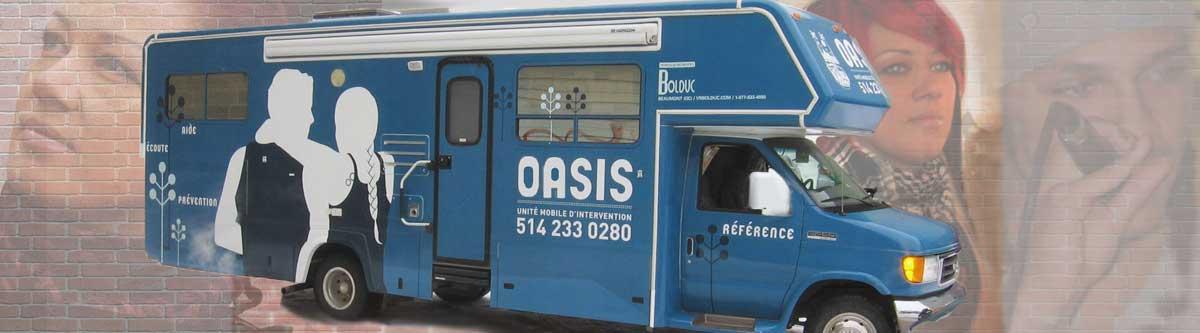 L'organisme l'Oasis, unité mobile d'intervention célèbre 20 ans de service auprès de la population lavalloise à risque
