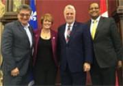 Trois députés lavallois nommés adjoints parlementaires par le premier ministre du Québec Philippe Couillard