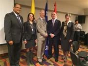 Le député de Laval-des-Rapides, M. Saul Polo en mission en Colombie